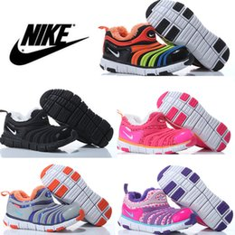 Wholesale Athletics Nike Caterpillar Children Shoes for Girls Boys Running Shoes Baby Kids Fashion Sport Sneakers Brand Eur