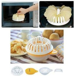 Wholesale Hot New Microwave Homemade Baked Potato Chip Maker Roaster Snack Maker Baking Tray