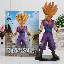 Wholesale 8 cm Dragon Ball Z Master Stars Piece MSP The Son Gohan PVC Action Figure Collectible Model Toy in box