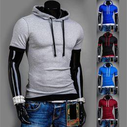 Wholesale new man hoody casual sweatshirt mens brand sports suit color fleece hoodie jackets men sportswear men hoodie sweatshirt