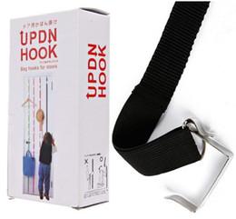 Wholesale UPDN Hooks Adjustable Multi purpose Hook Behind The Door Over the Door Home Organization with Retail Box