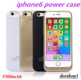 Wholesale I Phone Battery Charger mAh Emergency External Case Cover Pack Power Bank Bateria Cargador Fundas for Mobile Phone