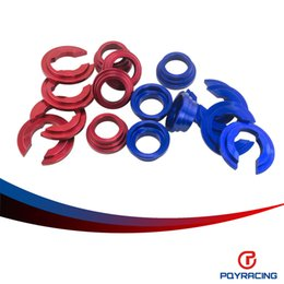 Wholesale PQY RACING BUSHING COLLARS SET For Nissan S13 S14 Z32 Subframe Bushing Collars PQY9809
