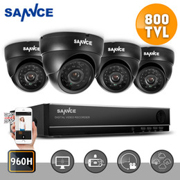 Wholesale SANNCE CH P H DVR TVL CCTV Home Surveillance Security Camera System