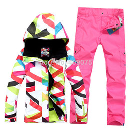 Wholesale-Free shipping+New Simple Style+ seven colors+wind waterproof+Great Woman Snowboard suit for single double jacket