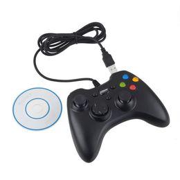 Compra Online Joystick usb-Xbox 360 USB Wire Controlador de juegos Xbox 360 gamepad PC XBOX360 Joypad Joystick Vlbration Ugame XBOX360 accesorio Para ordenador portátil PC