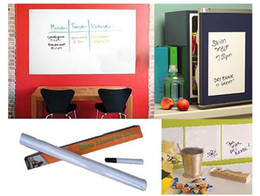 Wholesale funlife x200cm Whiteboard Sticker Wall Paper Decor Removable with pc Marker pen as bonus L2014474