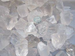 Wholesale AAAAA Natural white crystal nunatak ice ore energy stone wheel energy series100G