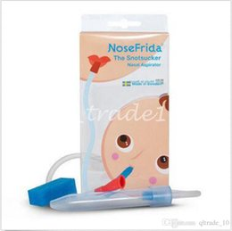 Wholesale 300pcs CCA2750 Nosefrida Aspirador Nasal Cleaner High Quality Suction Mucus Infant Tip Cleaner Heating Pump Silicone Infant Nasal Aspirator