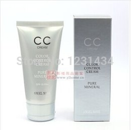 Wholesale Authentic angel CC BB cream mask pure mineral color regulation ml professional makeup