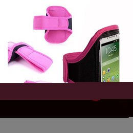 """Wholesale-Pink Running Sport Armband Jogging GYM Skin Case Cover for Mobile Cell Phone Samsung Galaxy Note 5 Active 5.7"""""""
