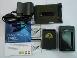 Wholesale Realtime GSM GPRS GPS Tracker TK102 tracking works with free monitor software with Batteries