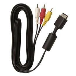 Câbles xbox av en Ligne-2016 Direct Selling Real Wifi 1.8mètre Hdmi To 3 Rca pour Audio Video Av Tv Adaptateur Composite Adaptateur 3rca Rgb Cable pour Xbox 360 pour Ps3 4