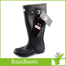 Wholesale 2015 Fashion boots Rubber Rain Boots Waterproof Wellies Boots Woman Rain Boots Super Star Rainboots with High quality