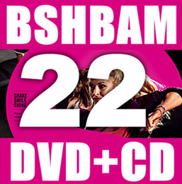 Wholesale Hot Sale Q1 New Routine SH Aerobic exercise Dance BAM SH22 BAM22 DVD CD Have Box