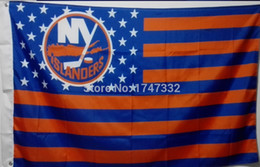 New York Islanders NHL National Hockey League Flag hot sell goods 3X5FT 150X90CM Banner brass metal holes