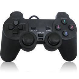 PC ató con alambre el USB Joypad de Gamepad del juego de Joypad del USB Controle el regulador con la ayuda dual XP / Win7 del choque para el ordenador portátil etc de la PC desde joystick usb proveedores