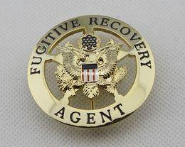 Wholesale The United States criminal fugitives agent Badge