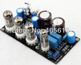 Wholesale 6N4 x3 Z4 Tube Preamplifier Maratz Valve Pre amp Assembled Updated Board Amplifier Cheap Amplifier