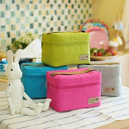 Wholesale New Arrival Polyester Food Thermal Storage Bag Ice Bags Outdoor Practical Small Cooler Bag Lunch Bags Picnic Waterproof Organizer Pouch