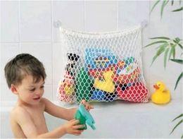 Wholesale White Kids Baby Bath Tub Toy Bag Hanging Organizer Storage Bag Large x cm