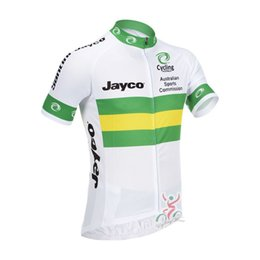 Wholesale ropa ciclismo short sleeve and cycling bib shorts set Australia National Team clothing cycling jersey maillot ciclismo