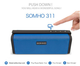 S311 Wireless Portable Speaker Bluetooth Mini Speakers Hifi Amplifier Sound Box with Mic Handsfree for iPhone HTC