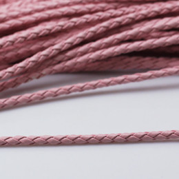 Wholesale Beadsnice braided leather cord leather rope leather necklace bracelet making component jewelry supplies ID