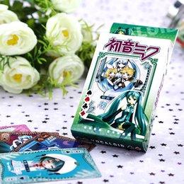Wholesale Hatsune Miku anime poker poker poker card beautifully boxed cartoon