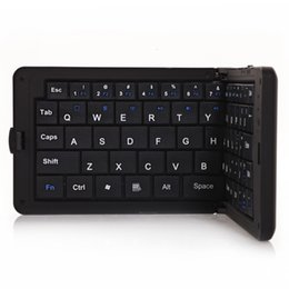 Wholesale Best phone Bluetooth Wireless Keyboard for PC Foldable Keyboards ABS Material Multifunctional Design GK218