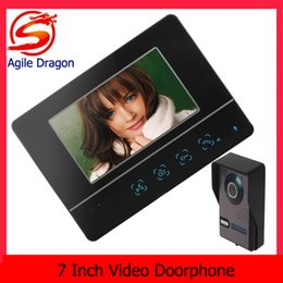 Wholesale high quality Inch Color Dynamic Picture Video Doorphone Intercom One Camera with One Monitor ACA_030