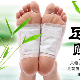 Wholesale Foot Detox Patches Foot Patch Detoxify Toxins Adhesive Keeping Fit Health Care Cleansing Body Pain Relief