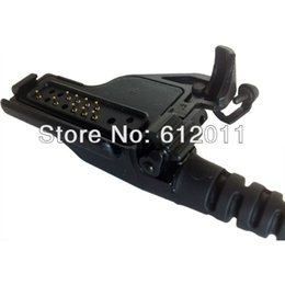 Wholesale RMN5038A IP54 Remote Speaker Microphone with Emergency Button for Motorola XTS Compatible Radios