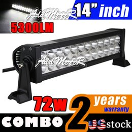 Wholesale In Stock Addmotor Inch w lm Led Alloy Off Road Led Light Bar SUV wd Led Driving Lamp Flood Spot Combo Beam w Led