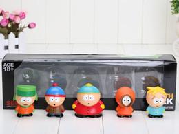 Wholesale 1Set set Dropship South Park Series Mini Figures Toy