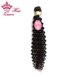Queen Hair Products Peruvian Curly Hair Deep Wave Virgin Hair 1pc lot Free Shipping 12-28inch in Stcok Best Quality