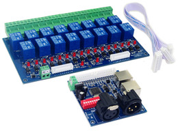 Wholesale 16CH Relay switch dmx512 signal Controller relay output channel DMX relay controller