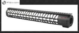 Wholesale Vector Optics KeyMod Inch Free Float One Piece Handguard Rail Mount System BLACK fit M series Platform Rifles