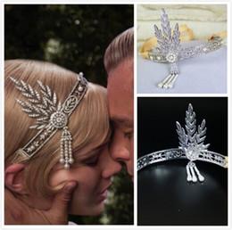 2015 Original Edition Gatsby Wedding Headbands Wedding Jewelery Bridal Crown Tiara Hair Accessories Headpieces Hair Band for Bridal