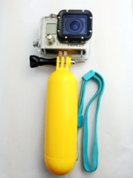New Yellow Floating Hand Grip Mount Accessory Float go pro accessories For camera Gopro Hero 1 2 3