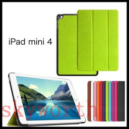 Wholesale Best Tri Fold leather case for ipad Pro air2 air mini Samsung Galaxy tab S2 A E S cover
