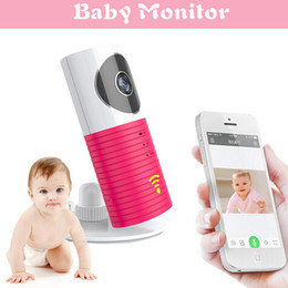 Wholesale Hot Wireless Wifi Baby Monitor IP Camera Intelligent Alerts Nightvision Intercom Wifi Camera support iOS Android DOG W