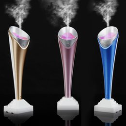 Wholesale Mini Multifunctional Portable Torch Shaped Humidifier Handy Air Purifier Aroma Diffuser Air Cleaning Appliances H16126