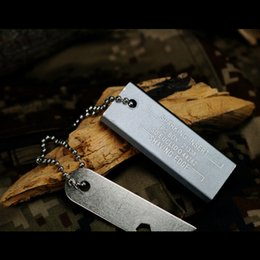 Wholesale Camping Hiking Travel Kits W0032 Baer survival Recommend Outdoor survival camping Magnesium Flint Fire Starter Magnesium block