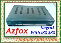Wholesale 2016 AZFOX N10S HD Satellite TV Receptor Azfox N10s For South America Support Nagra3 With IKS SKS Twin Tuner