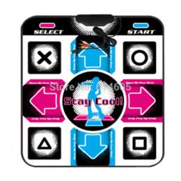 USB RCA antideslizantes de danza del paso de la estera del cojín de la PC TV AV Video Juego de cojín de la estera del ratón desde estera de baile juego de pc proveedores