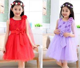 Wholesale best selling children dress girls dance skirt new summer new children s performance clothing Children s Day SHBC
