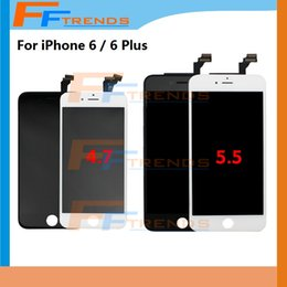 Original LCD Display Touch Digitizer Complete Screen with Frame Full Assembly Replacement for iPhone 6 iPhone 6 plus DHL free shipping