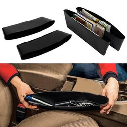 Wholesale Catch Catcher Box Caddy Car Seat Gap Slit Pocket Storage Organizer for auto