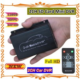 Wholesale 2 ch G simultaneously stored car DVR Video compression MPEG ASF Audio Compression MP3